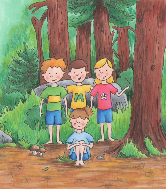 In-the-Woods--title-illustration