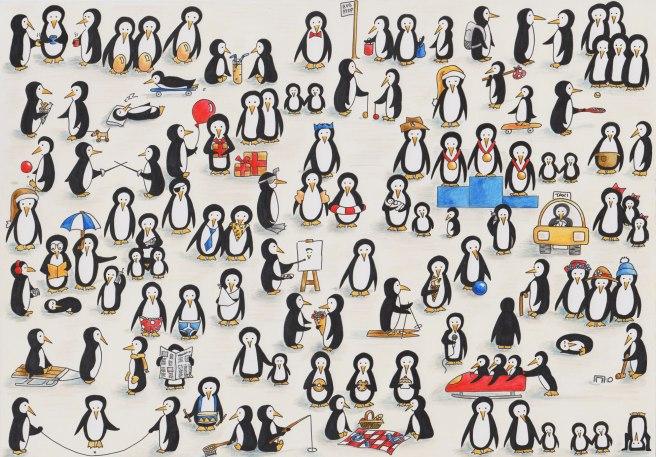 Penguin-cartoon-colour